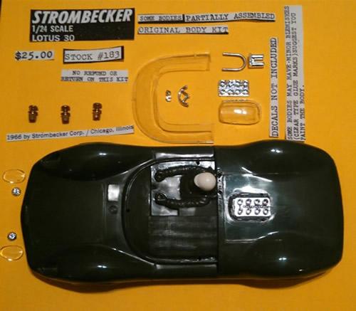Strombecker Slot Cars & Parts